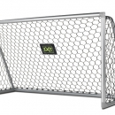 Scala 220x120cm aluminium voetbaldoel