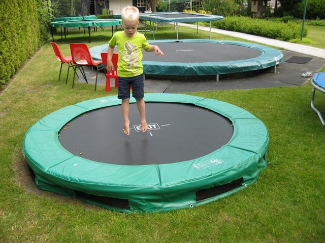 Exit 244 Interra trampoline