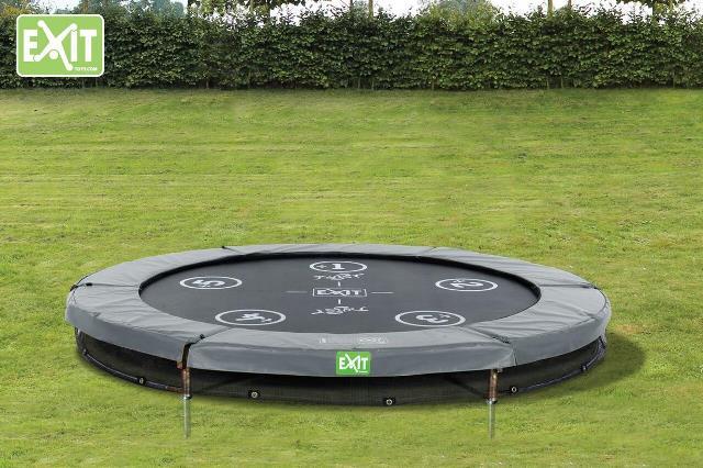 Exit Twist 183cm Ground trampoline