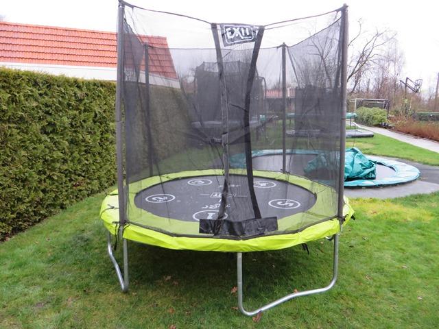 Exit twist 244 trampoline met veiligheidsnet
