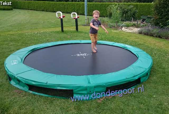 Exit 305 cm Interra trampoline KOOPJESPRIJS