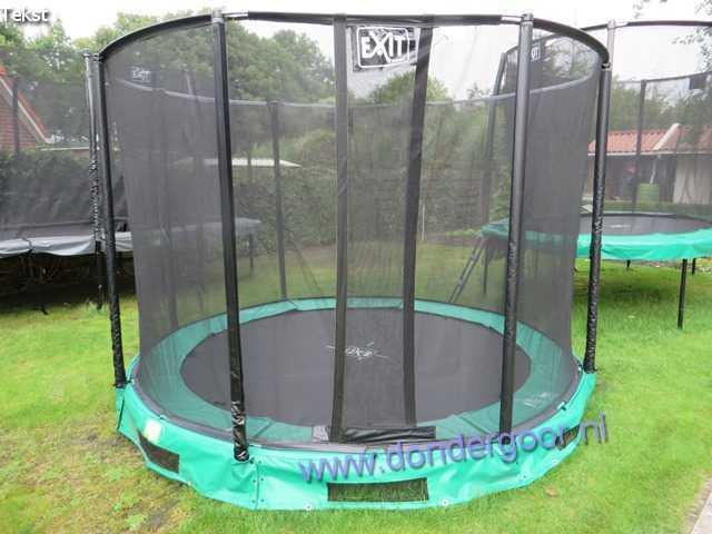 Exit Interra 305 trampoline met veiligheidsnet