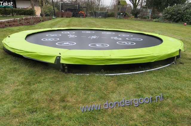Exit Twist 366 Ground trampoline KOOPJESPRIJS