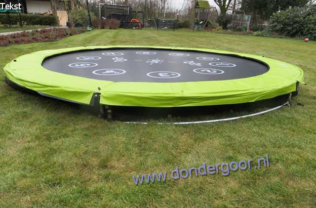 Exit Twist 366 Ground trampoline KOOPJESPRIJS