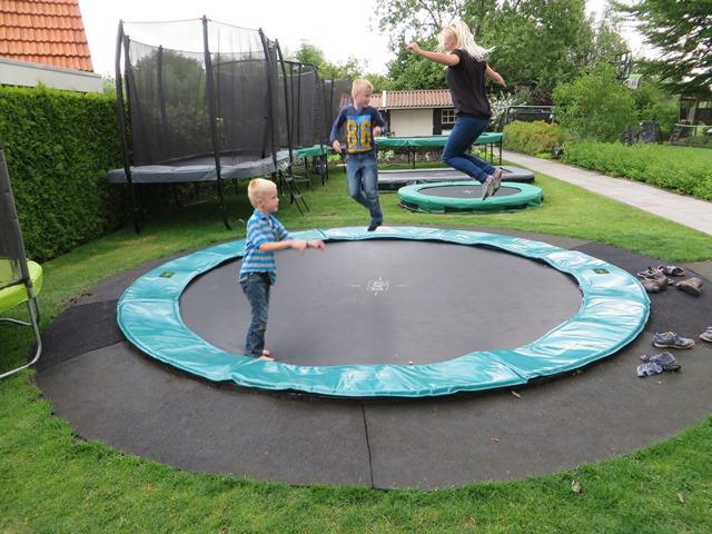 Exit Supreme Ground Level 366  trampoline