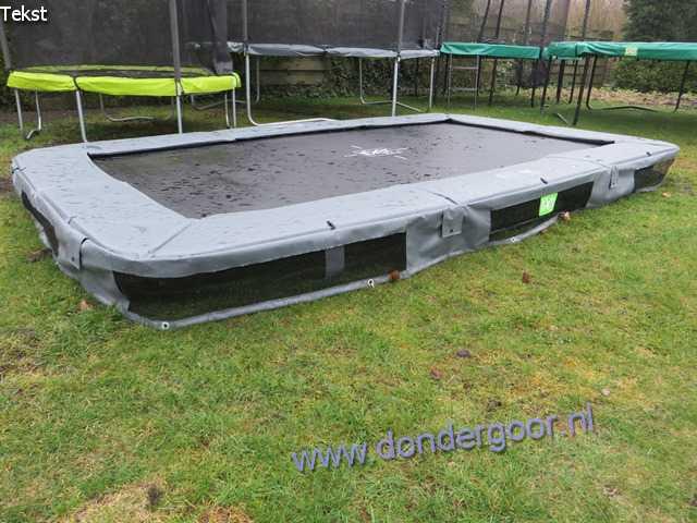 Exit 214x366 Interra Rectangular trampoline