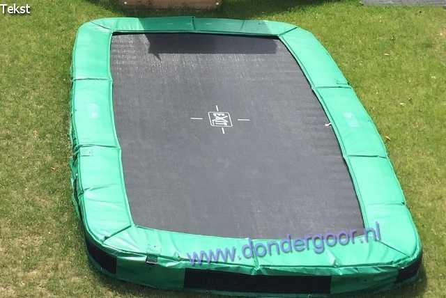 Exit 244x427 Interra Rectangular trampoline