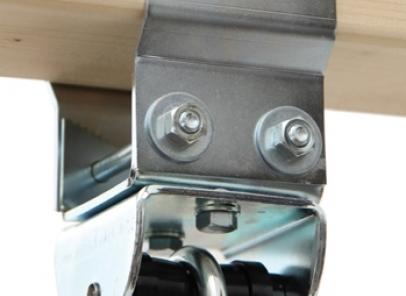 Schommelhaak voor rechthoek balk