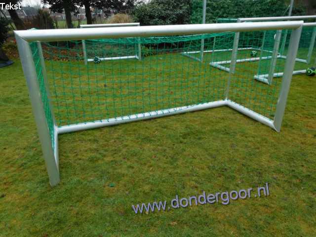 Calzio voetbaldoel 250 x 120 cm aluminium
