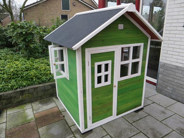 Exit Loft 100 speelhuisje groen