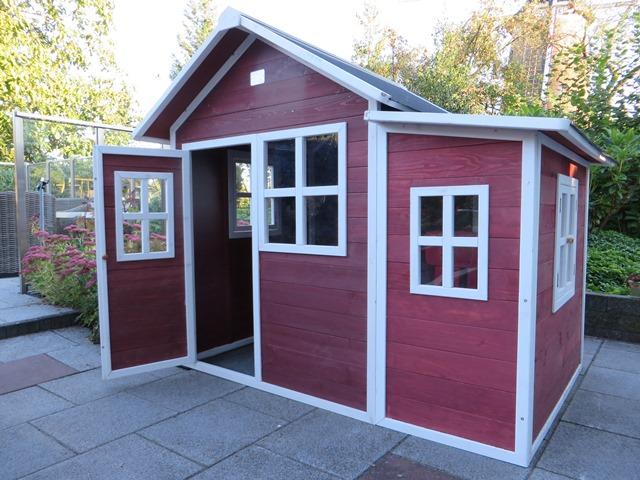 Exit Loft 150 speelhuisje rood