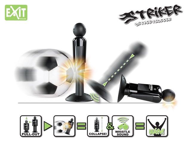 Striker Streetsoccer paaltjesvoetbal