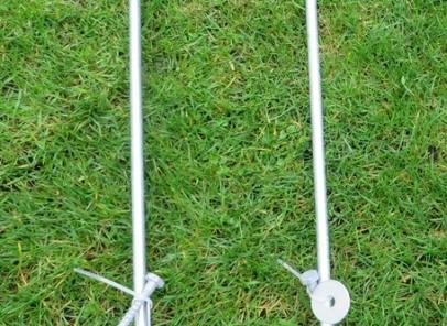 grondankers voor vastzetten trampoline