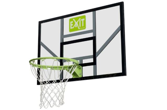 Basketball bord met ring