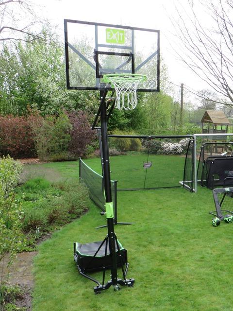 Galaxy basketbal verrijdbaar