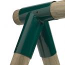 stalen hoekverbinding rond 100 / 80 mm
