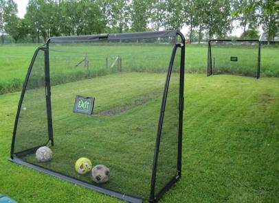 Exit Coppa voetbaldoel Goal