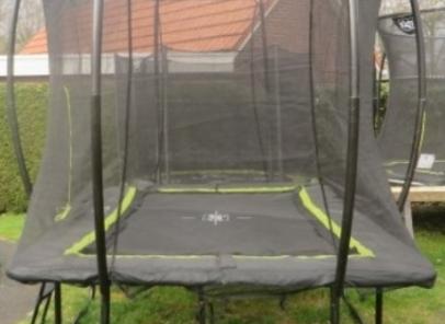 trampoline Exit Silhouette 244 x 366
