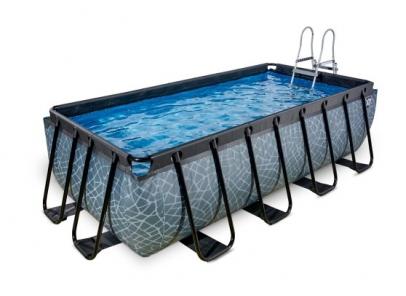 zwembad Exit 400-200-100cm-stone-zandfilter