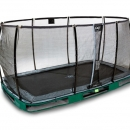 trampoline Exit Elegant 214x366 inground Economy