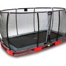 trampoline Exit Elegant inground 244x427 met net