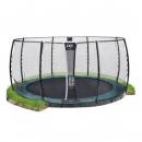 Exit Supreme 427cm trampoline met Vh-Net