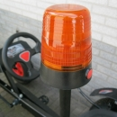flitslamp oranje voor skelter