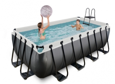 zwembad 400x200-122cm-black-Z-filter