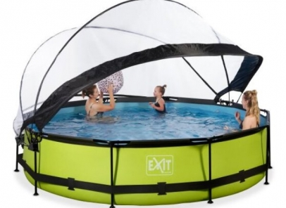 Exit zwembad 360-76-kap-lime