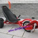 Exit Triker Pro 100 rood met reservewiel achter