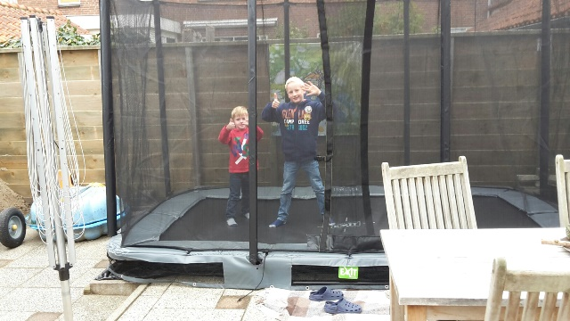 Veiligheidsnetten voor Interra trampolines