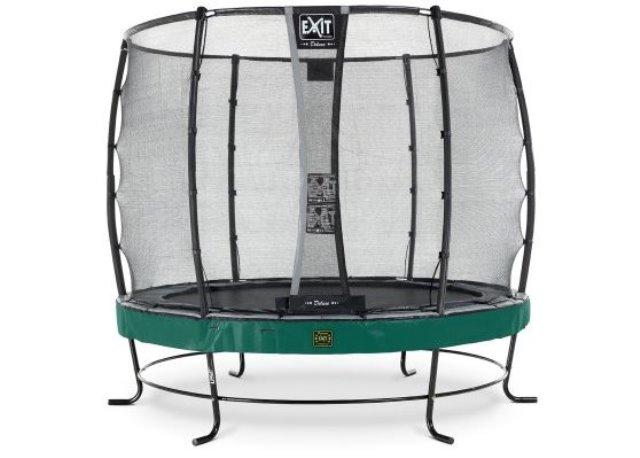 Exit Elegant-253-Premium Luxe trampoline groen-gr-zw