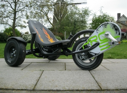 Triker Pro 50 zwart
