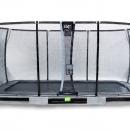 trampoline Exit Elegant Premium 214 x 366 inground Deluxe