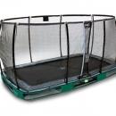 trampoline Exit Elegant 214x366 inground Economy net