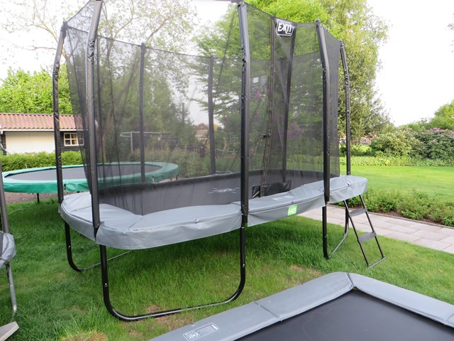 Exit 244x427 all-In rectangular trampoline