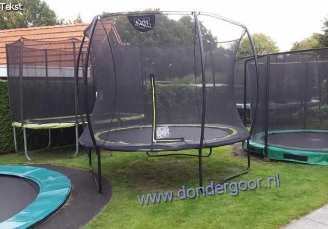 Exit Silhouette 244cm trampoline