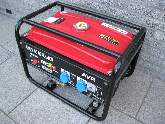 Stroomgenerator 230 volt