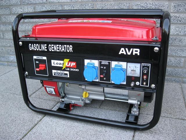 Stroomgenerator 230 volt 2500 Watt