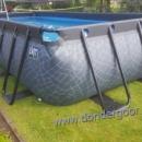 Premium zwembad 400-200-stone